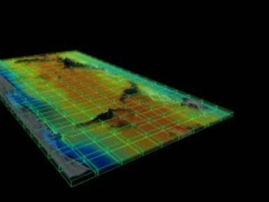 AIRS Volumetric Temperature Data (Fly Out)