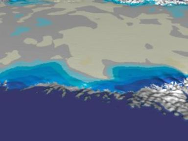 Greenland: Pan to West Coast Area of Interest