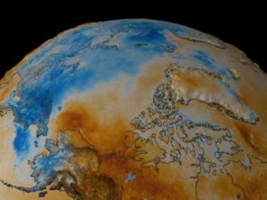 Yearly Arctic Temperature Anomaly