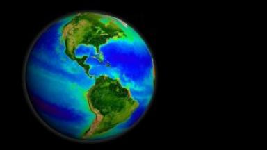 SeaWiFS Biosphere Data over the North Atlantic