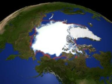 Arctic Yearly Minimum Sea Ice Concentration 1979-2003