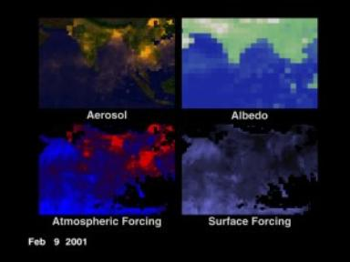Aerosols and Warming Change with Time - Version 1