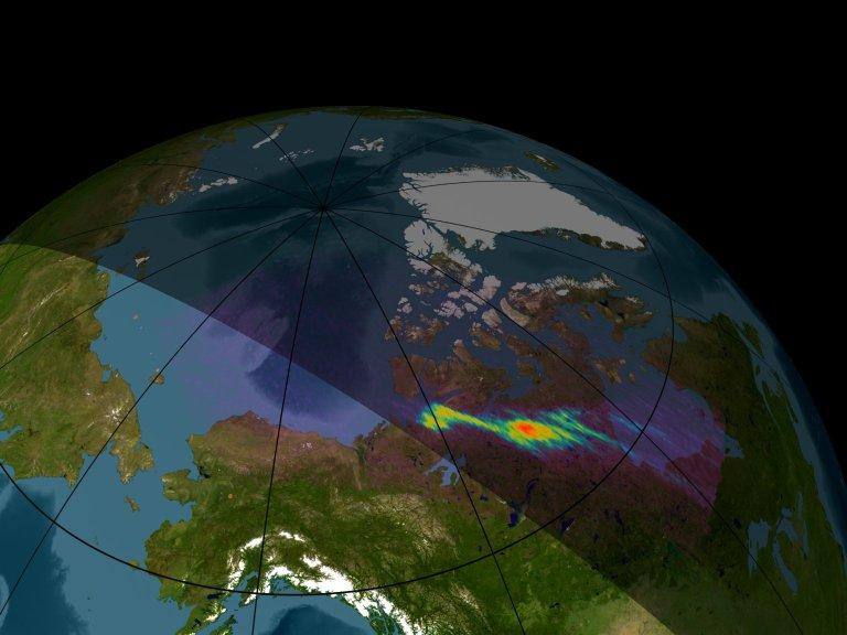 X-ray Images of the North Polar Region from the Chandra HRC-I Instrument