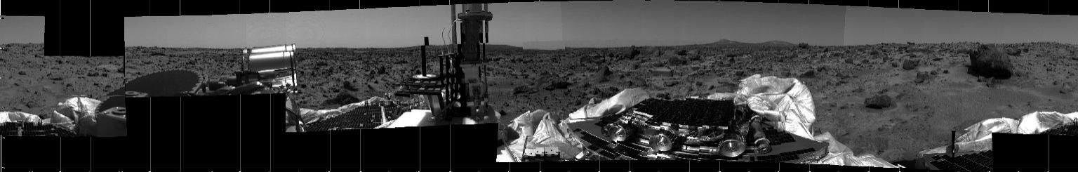 MRPS #80881 (Sol 2) 360 degree panorama of Martian surface