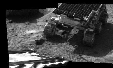 MRPS #80911 (Sol 2) Rover touchdown on Martian surface