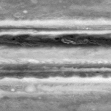 Still from Processed Movie of Zonal Jets