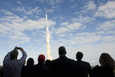 STS-129 Lifts Off