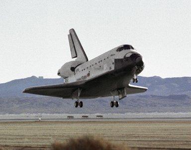 STS-66 Edwards Landing Approach