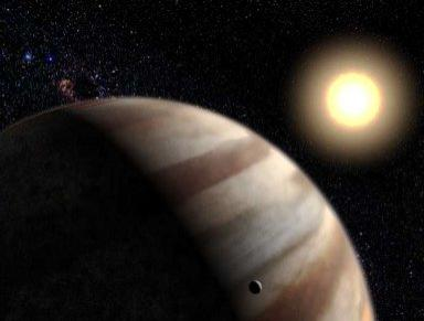Extra-Solar Planetary Atmosphere Detected