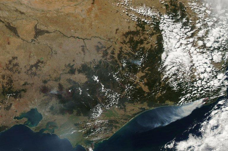 Fires in East Gippsland, Victoria