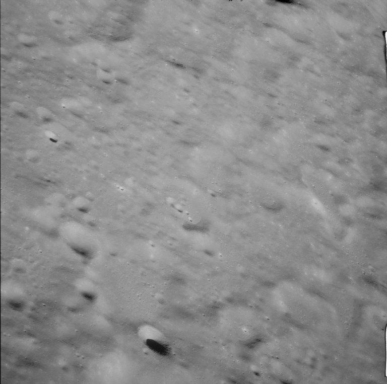 Apollo 11 Mission image - West of Crater 308
