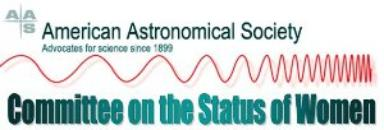 American Astronomical Society Sets Goals for Improving Gender Equity in Astronomy
