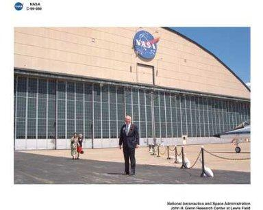 CENTER RENAMING EVENTS FROM NASA LEWIS RESEARCH CENTER TO JOHN H GLENN RESEARCH CENTER AT LEWIS FIELD