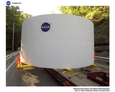 Transfer of Aries 1 mock-up
