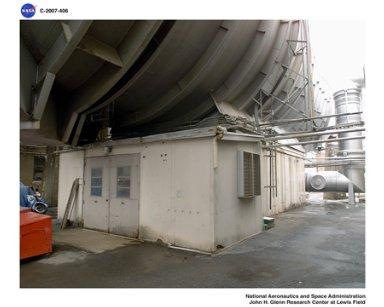 Altitude Wind Tunnel (AWT) interior pictures before demolition