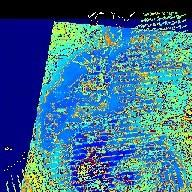 Hurricane Isabel, AIRS Infrared and SeaWinds Scatterometer Data Combined