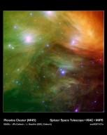 The Seven Sisters Pose for Spitzer