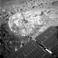 Soft Rock Yields Clues to Mars' Past