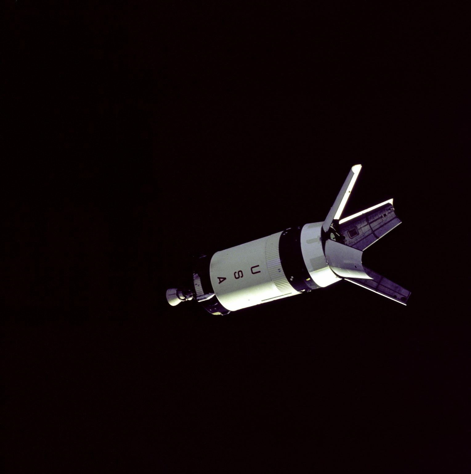 Saturn V Third Stage LM Adapter