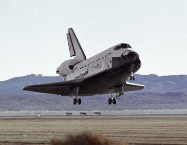 STS-66 Atlantis Landing Approach at Edwards