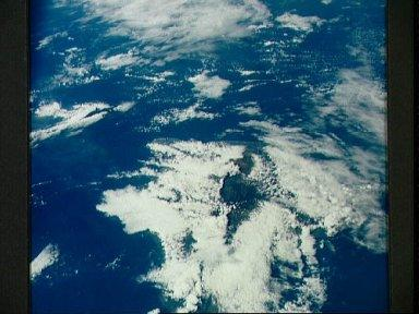 Islands of Hawaii, as seen from the Apollo 7 spacecraft