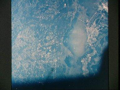 New Orleans area as seen from the Apollo 7 spacecraft