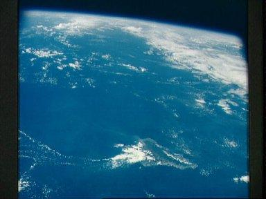 Island of Oahu, State of Hawaii, as seen from the Apollo 7 spacecraft