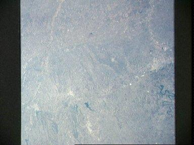 View of Central Texas as seen from Apollo 9