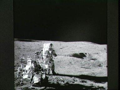 View of the Central Station of the ALSEP deploy by Apollo 14 astronauts