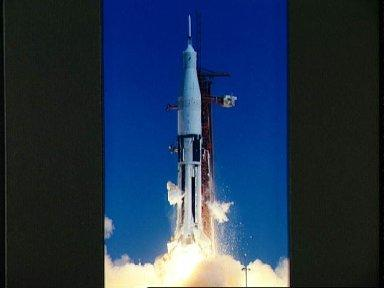 Apollo/Saturn 201 launched from Kennedy Space Center