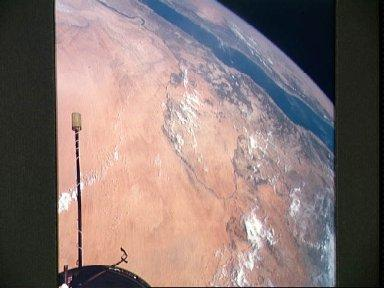 Areas of Sudan and Egypt as seen from Gemini 11 spacecraft
