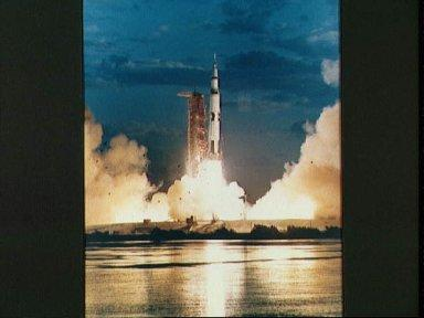 Launching of the Apollo 4 unmanned space mission