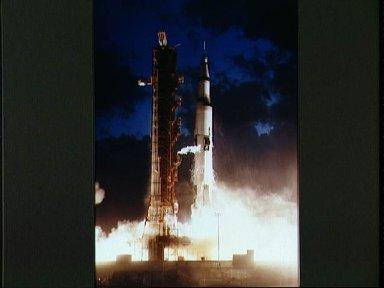 Apollo 4 unmanned mission launched from Pad A, Launch Complex 39