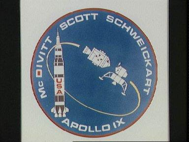 Emblem for the Apollo 9 space mission