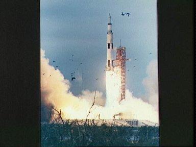 Liftoff of the Apollo 9 space vehicle