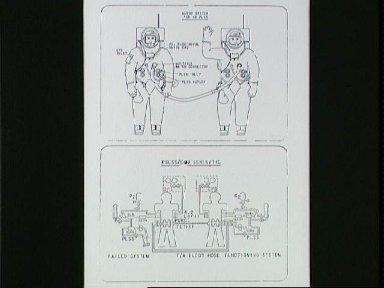 Drawing of the Buddy Secondary Life Support System