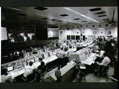 Overall view of Mission Control Center during Apollo 14