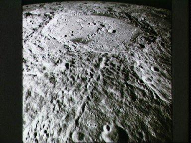 View of crater Humboldt as photographed by Apollo 15