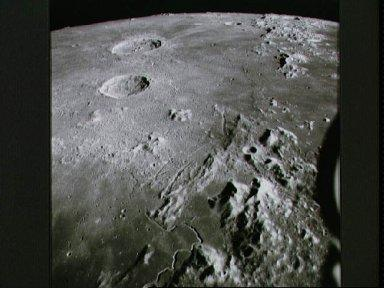 View of Hadley-Apennine area, looking north, photographed by Apollo 15