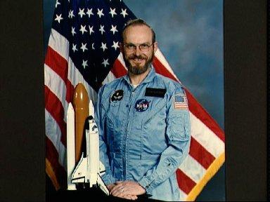 Portrait of STS 51-F Spacelab payload specialist Loren Acton