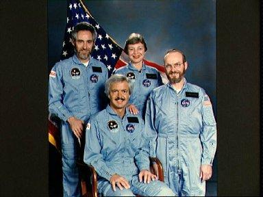 Portrait of STS 51-F Spacelab payload specialists and backups